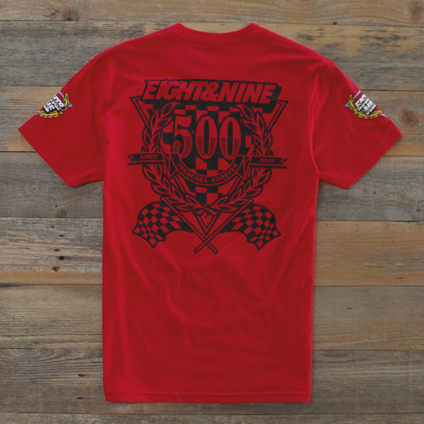 Daytona 2.0 T Shirt Red - 2