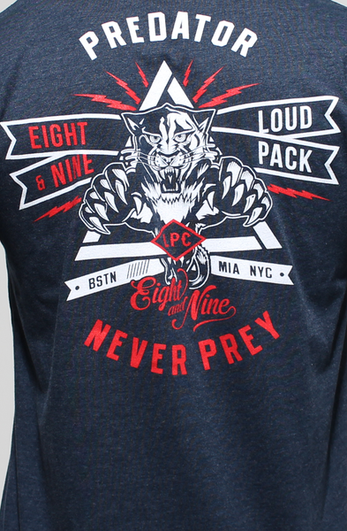 Loud Pack Predator V Neck Tee - 3