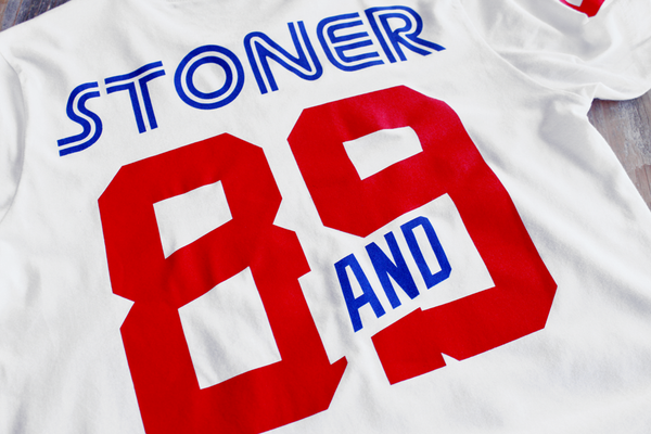Stoner Hockey Jersey Tee White - 5