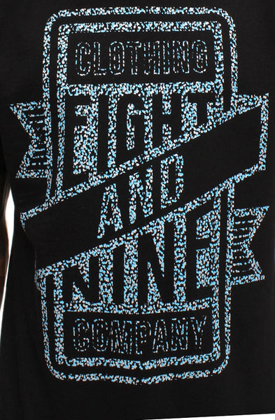 Gamma Blue Metallic Sign Shop T Shirt - 2