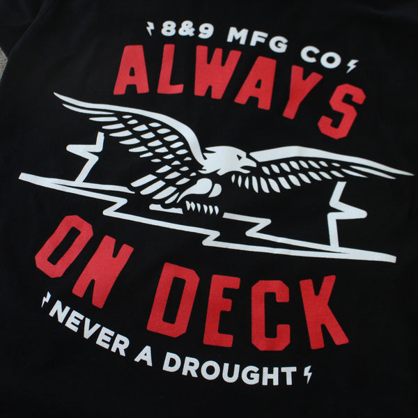 No Droughts T Shirt Black - 2