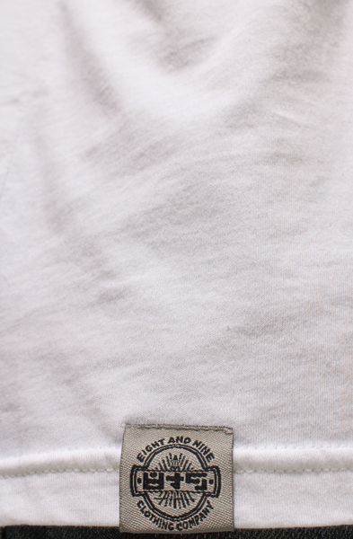 Masterminds White V Neck Tee - 4