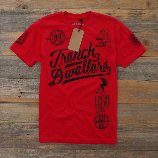 Visionaries Jersey Tee Red - 2