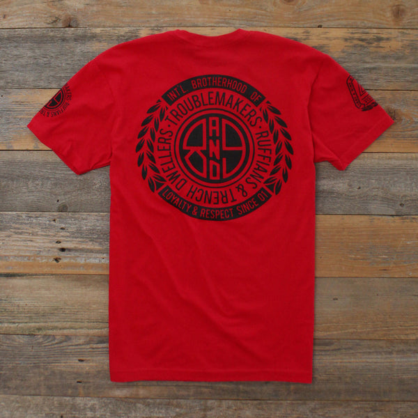 Visionaries Jersey Tee Red - 3