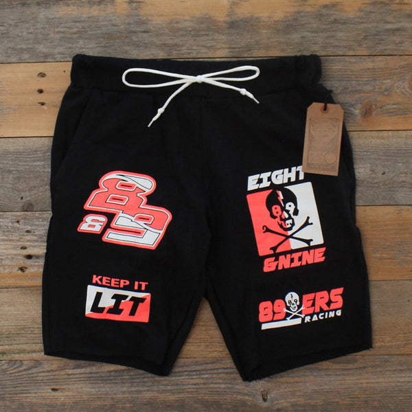 Keep It Lit Terry Shorts Infrared - 3