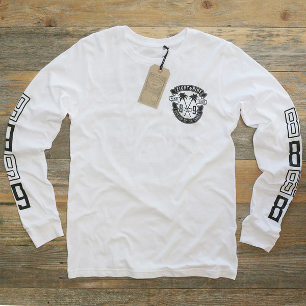Bossed Up Tee White L/S
