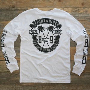 Bossed Up Tee White L/S - 2