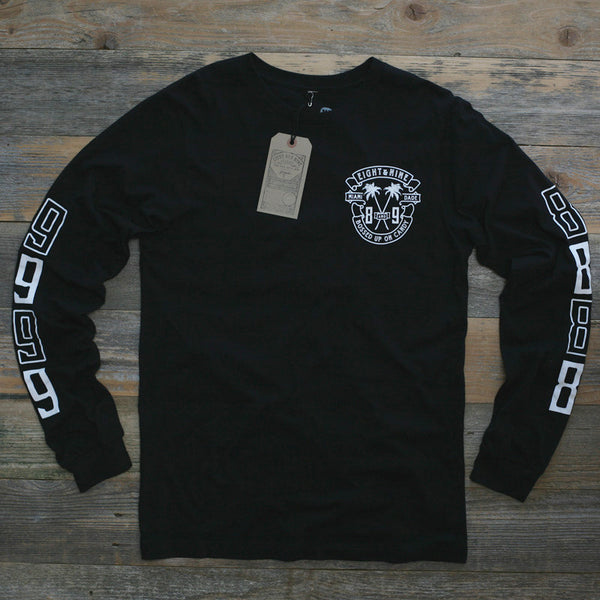 Bossed Up Tee Black L/S