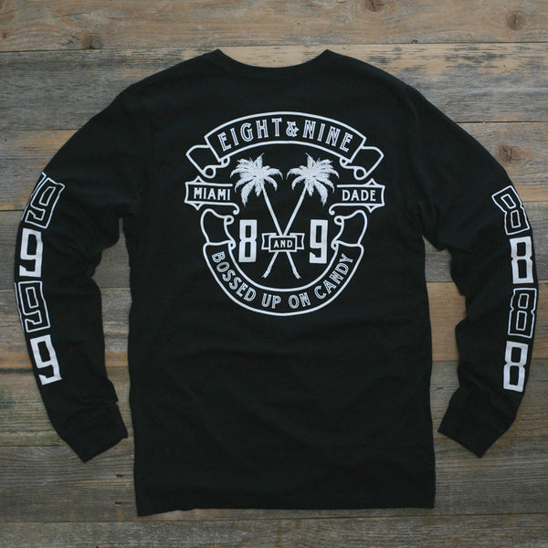 Bossed Up Tee Black L/S - 2