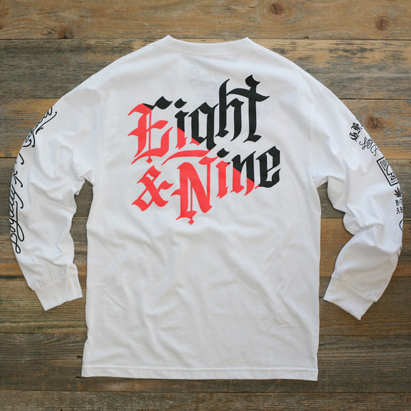 Club Life Jersey Tee White Infrared L/S - 2