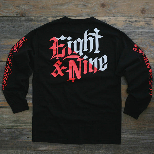 Club Life Jersey Tee Black Infrared L/S - 2