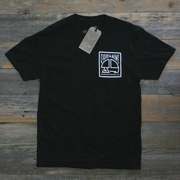 MFG Stamp Classic T Shirt Black