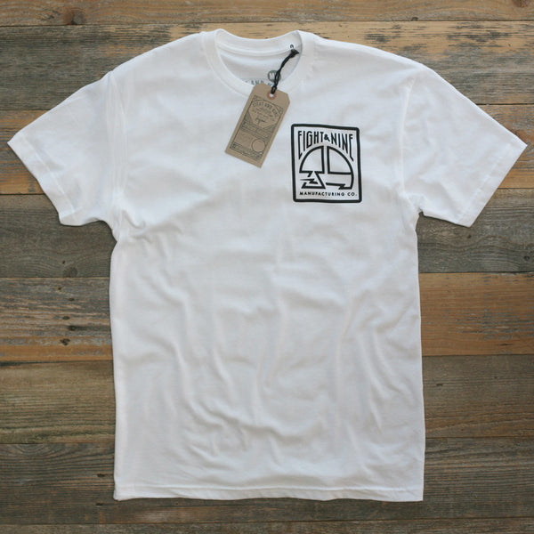 MFG Stamp Classic T Shirt White