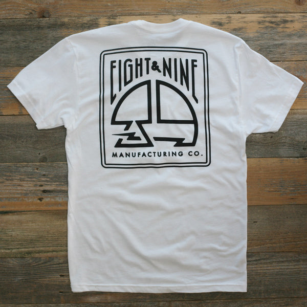 MFG Stamp Classic T Shirt White - 2