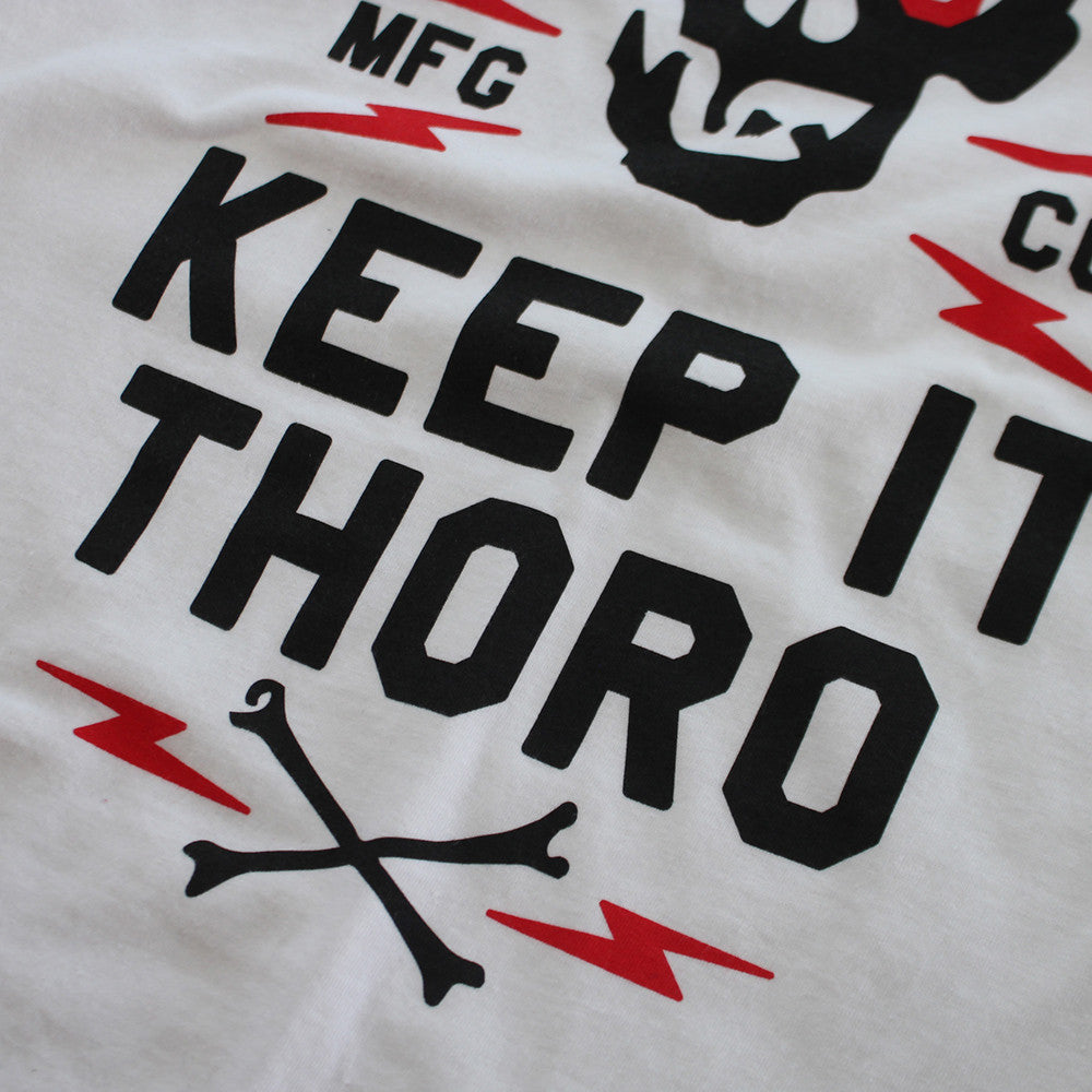 Keep It Thoro T Shirt Fire Red - 3