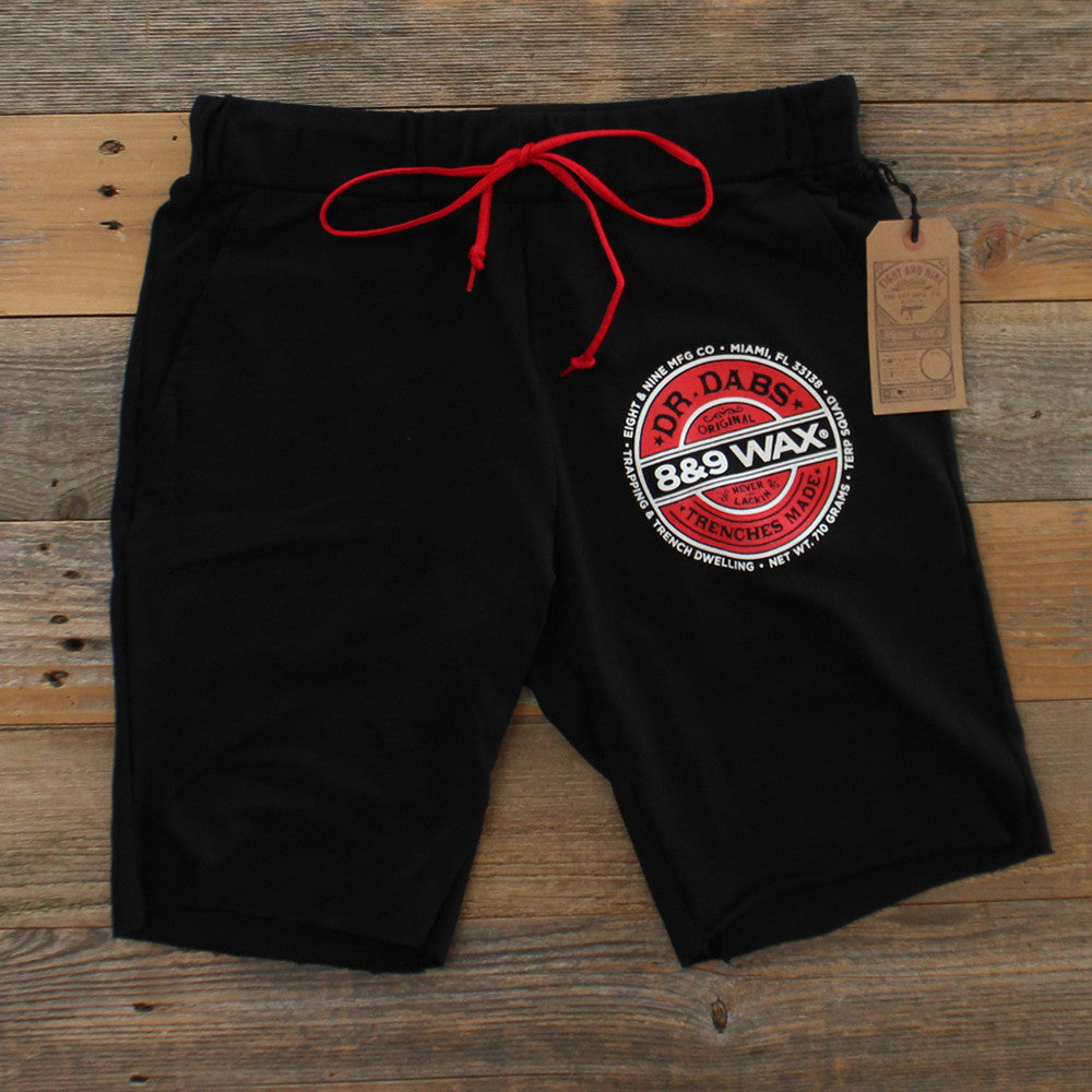 Dr. Dabs Terry Shorts Black - 1