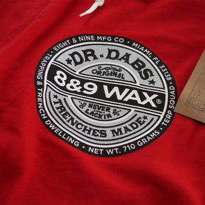 Dr. Dabs Terry Shorts Red - 3