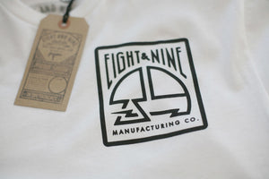 MFG Stamp Classic T Shirt White - 3