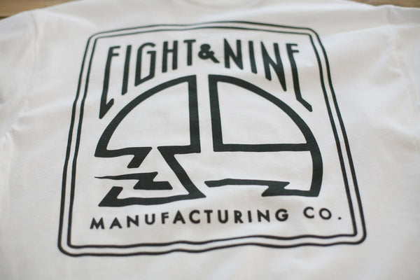 MFG Stamp Classic T Shirt White - 4