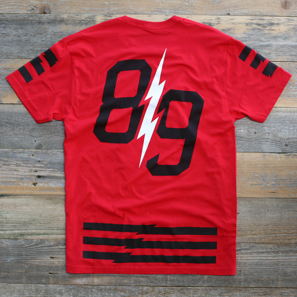 Trappin Jersey Tee Fire Red - 2
