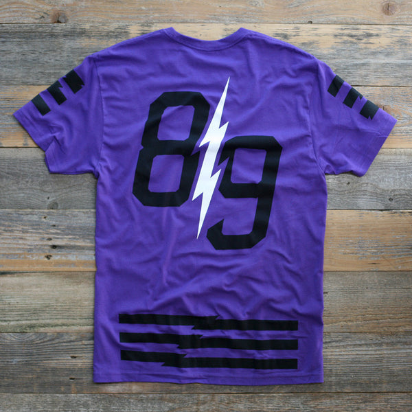 Trappin Jersey Tee Purple - 2