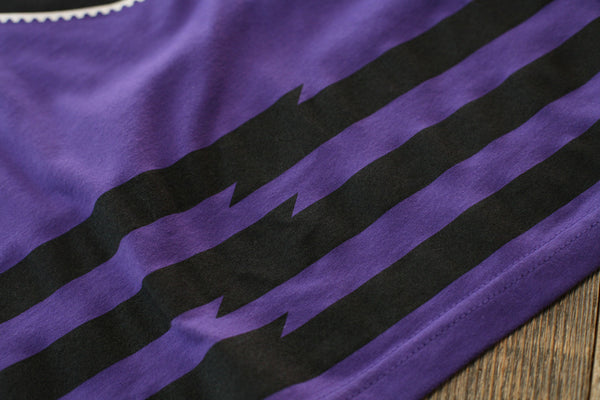Trappin Jersey Tee Purple - 6