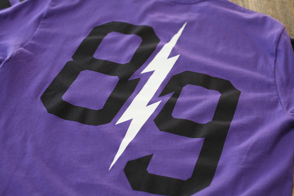 Trappin Jersey Tee Purple - 7