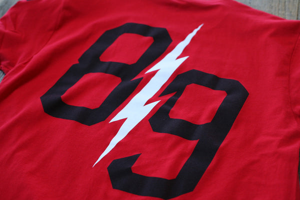 Trappin Jersey Tee Fire Red - 6