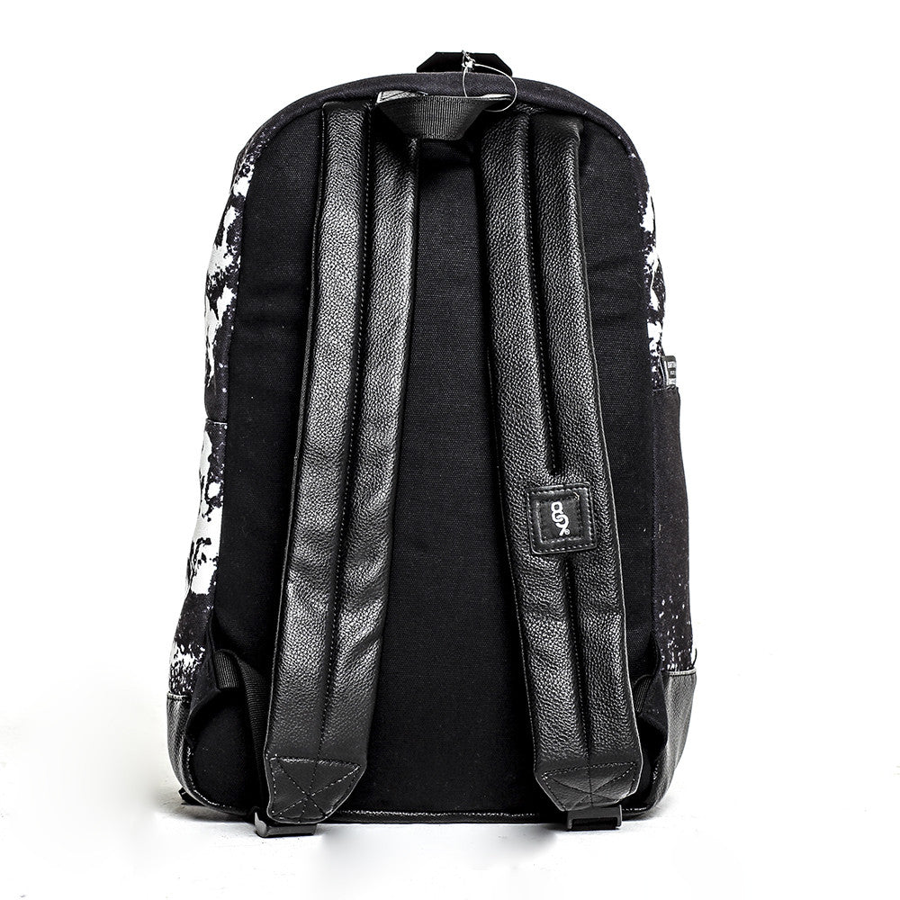 Blow Print Canvas Backpack