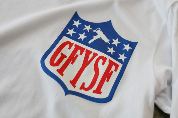 GFYSF League Jersey Tee White L/S - 2
