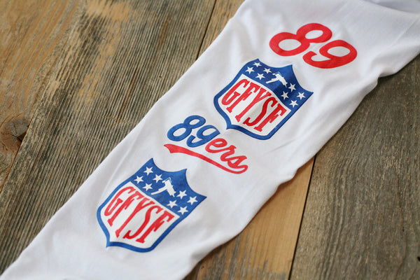GFYSF League Jersey Tee White L/S - 3