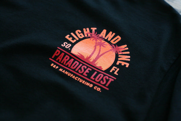 Paradise Lost Tee Sunset Black L/S - 3