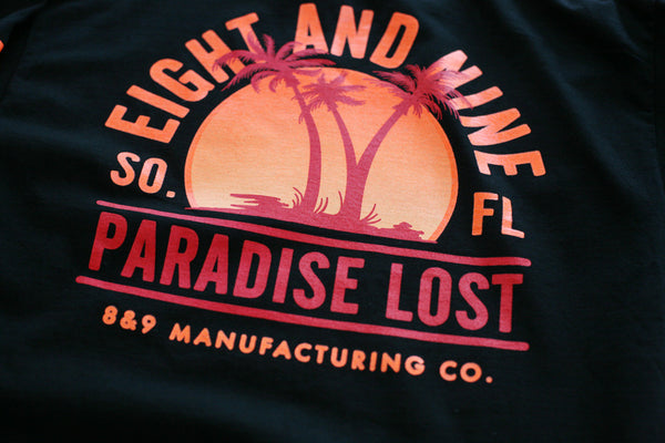 Paradise Lost Tee Sunset Black L/S - 4