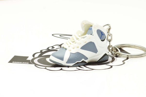 Jordan 7 VII Flint Purple Mini Sneaker Keychain