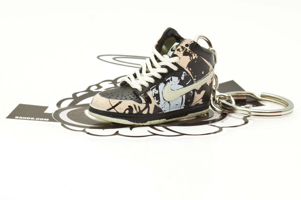 Nike UNKLE Dunk High Sneaker Keychain