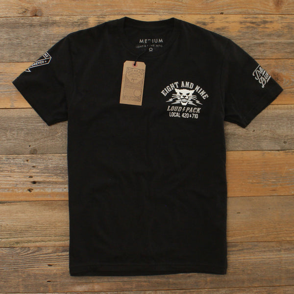 High Aleah T Shirt Black