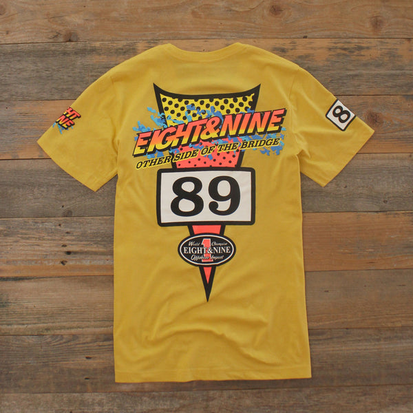 Thriller Jersey T shirt Sport Yellow - 4