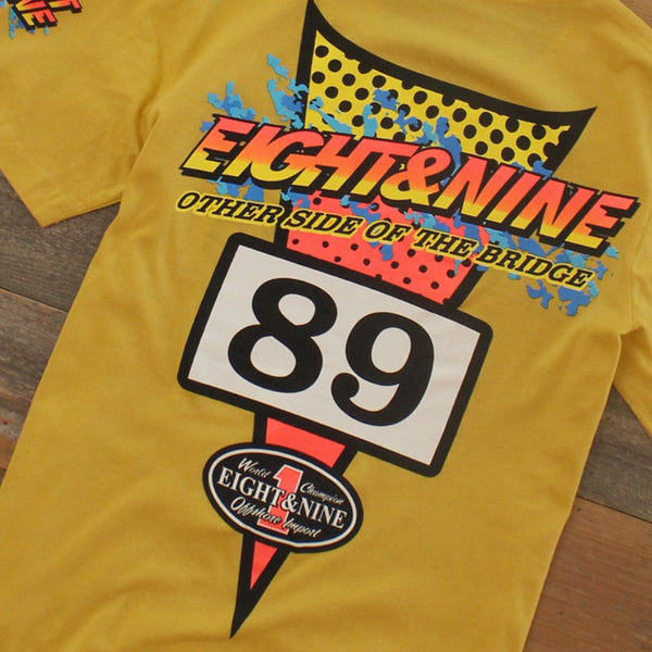 Thriller Jersey T shirt Sport Yellow - 6