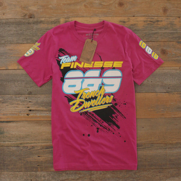 Team Finesse Jersey Tee Pink - 3