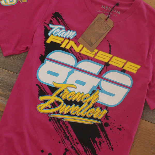 Team Finesse Jersey Tee Pink - 5