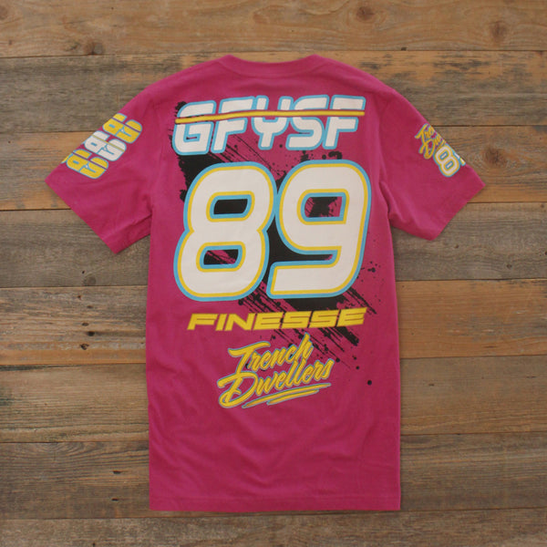 Team Finesse Jersey Tee Pink - 4