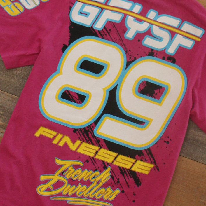 Team Finesse Jersey Tee Pink - 6