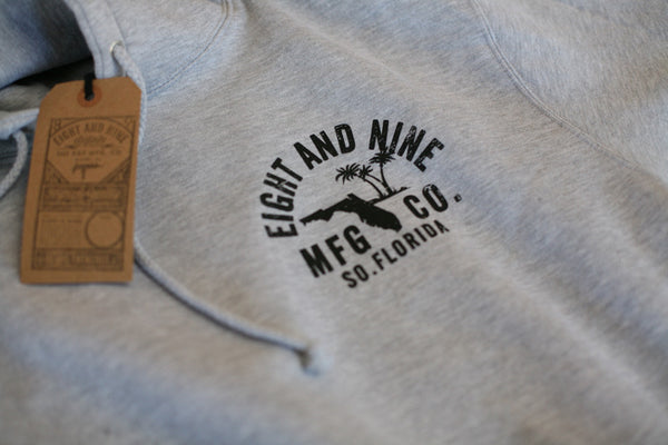 Rollin' Up Hooded Sweatshirt Grey - 4