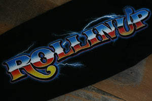Rollin' Up Hooded Sweatshirt Black - 5