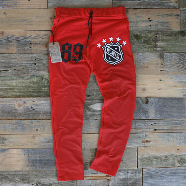 Goons Fire Red Tailored Sweats - 1