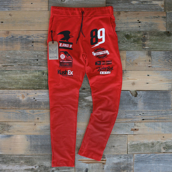 OG Gas Fire Red Tailored Sweats