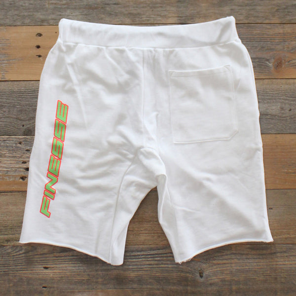 Team Finesse Terry Shorts Green - 4