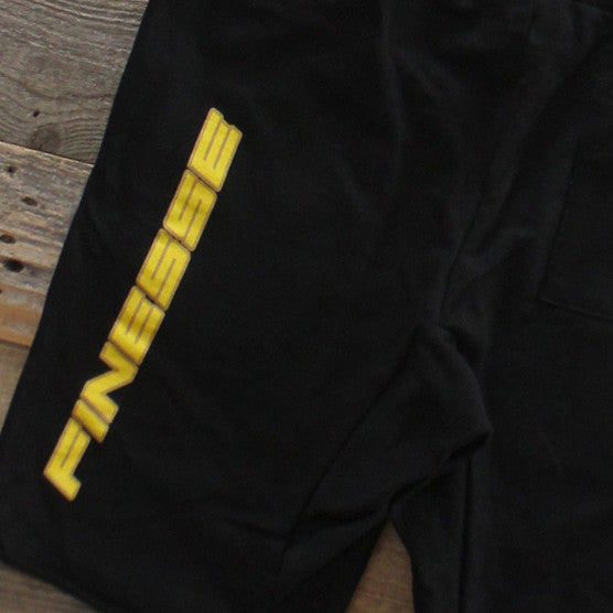 Team Finesse Terry Shorts Black - 4