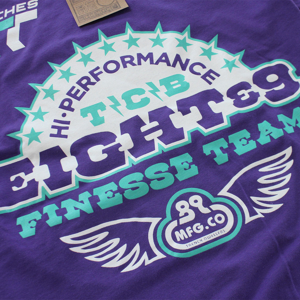 High Performance T Shirt Grape - 3