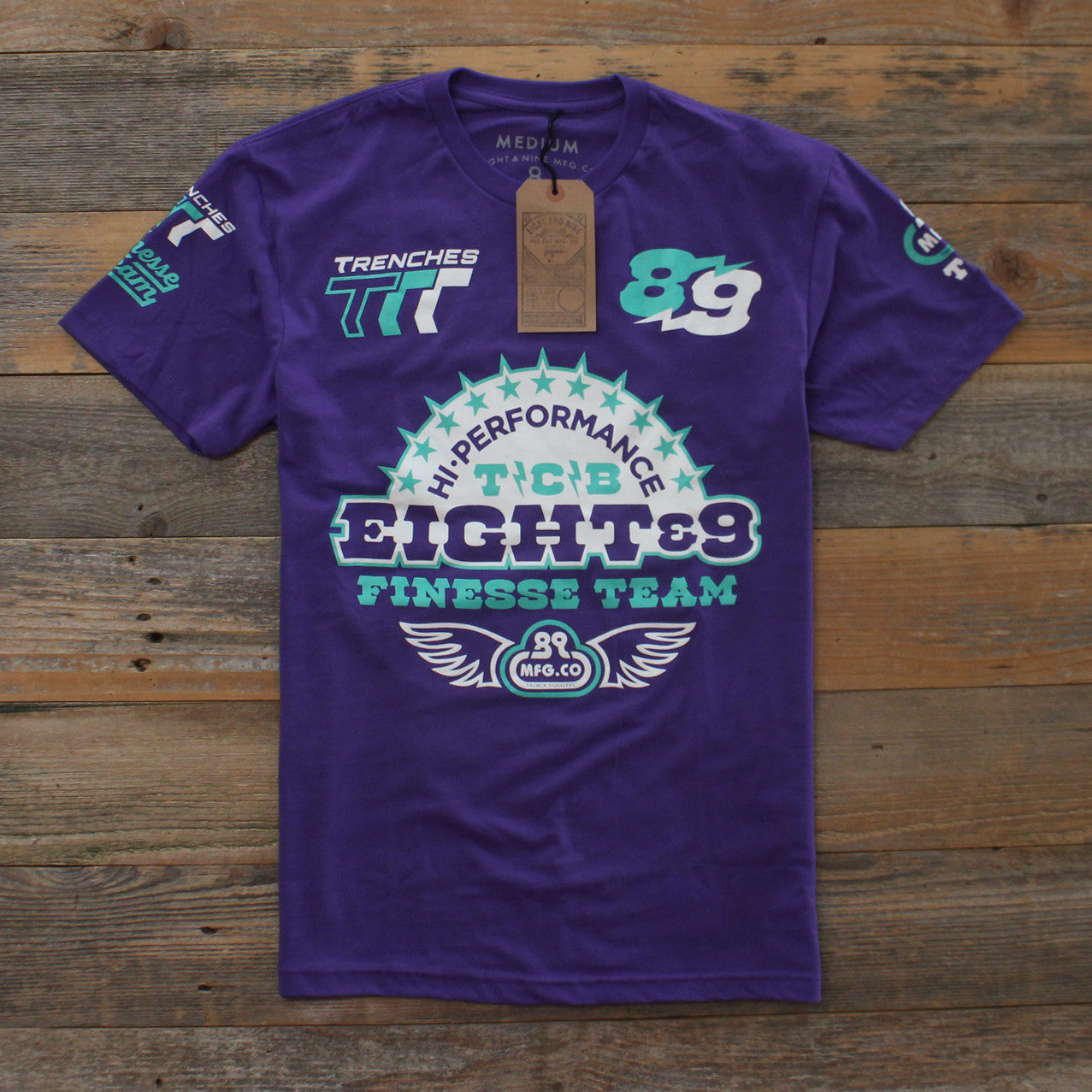 High Performance T Shirt Grape - 1